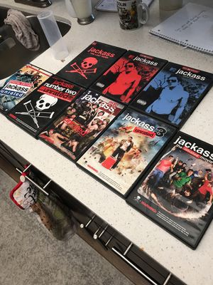 All jackass movies and TV seasons for Sale in Scottsdale, AZ