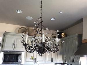 "Claudette chandeliers (2) from Arhaus. 22"" diameter x 25""H for Sale in Castle Rock, CO"