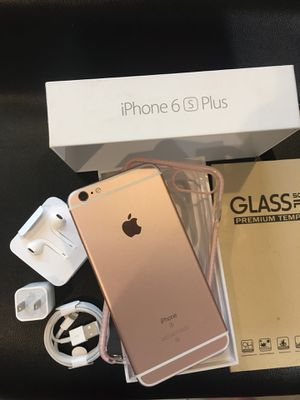 IPHONE 6S+PLUS UNLOCKED FOR ANY CARRIER COMPANY for Sale in Montebello, CA