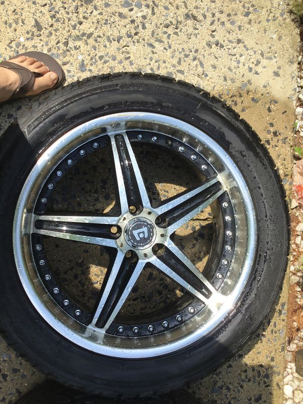 Rims and tires great condition