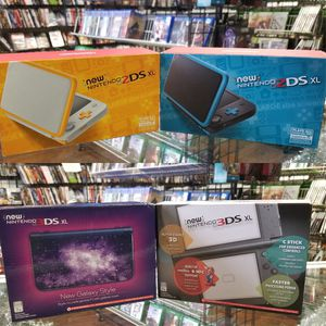 Nintendo 3ds , 2ds 3ds XL or NEW 3ds Systems For Sale for Sale in Pasadena, TX