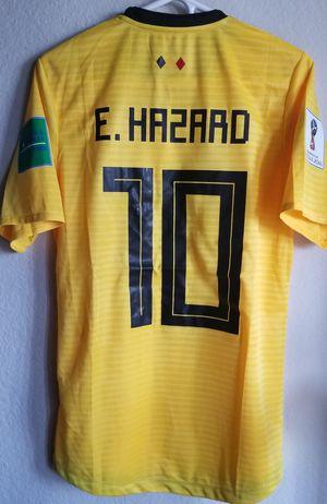 Adidas mens 18/19 belgium away Jersey original size médium large Hazard 10 for Sale in Phoenix, AZ