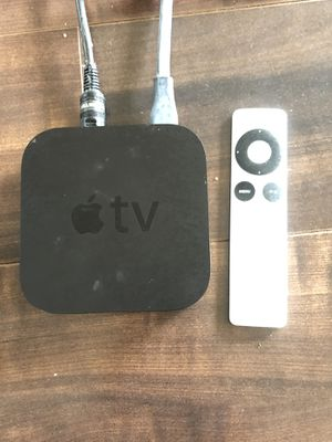 Apple TV 2nd Generation with remote & cords for Sale in Seattle, WA