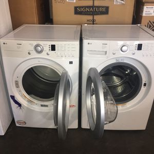 LG front load washer and gas dryer for Sale in San Luis Obispo, CA