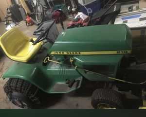 John Deere 210 with snow blower attachment for Sale in Chicago Heights, IL