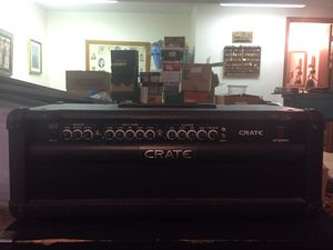 NOS, Crate GT1200 120 Watt Guitar Amp Head with Footswitch. for Sale in Denver, CO