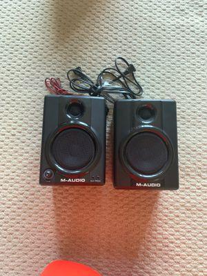 M-Audio AV 30 speakers for Sale in Huntington Beach, CA