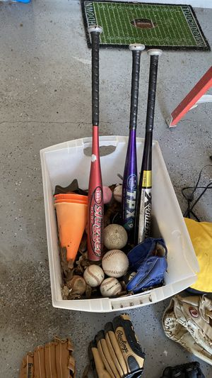 Baseball Bats & Gloves for Sale in Plano, TX