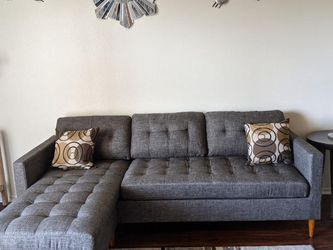 New Gray Sectional Couch : free Delivery for Sale in Santa Monica,  CA