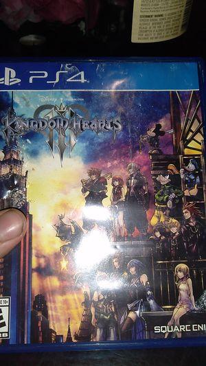 Kingdom hearts 3 for Sale in Elizabeth, NJ
