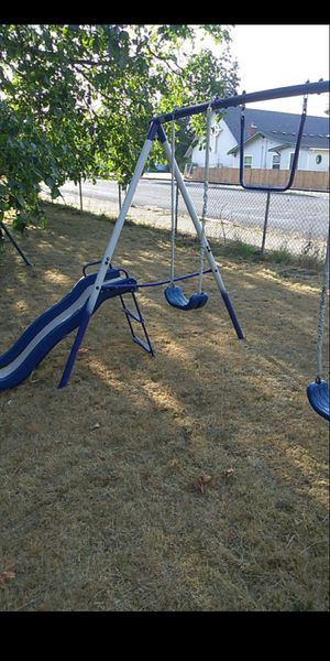 large swing set and slide for Sale in Tacoma, WA