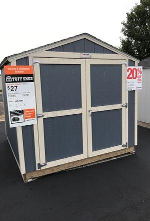 Tuff Shed kr600 8x8 for Sale in Belleville, IL