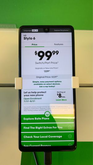 Stylo 6 for Sale in Amarillo, TX