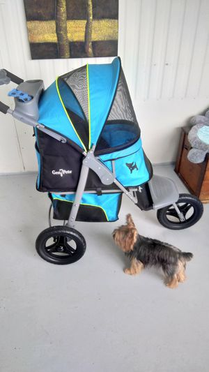 Gen 7 Deluxe Dog Stroller . Hand painted Chihuahuas and yorkies. One of a kind for Sale in Saint Petersburg, FL