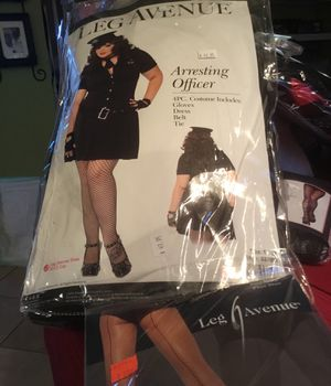 Women's Halloween officer plus size for Sale in Grapevine, TX