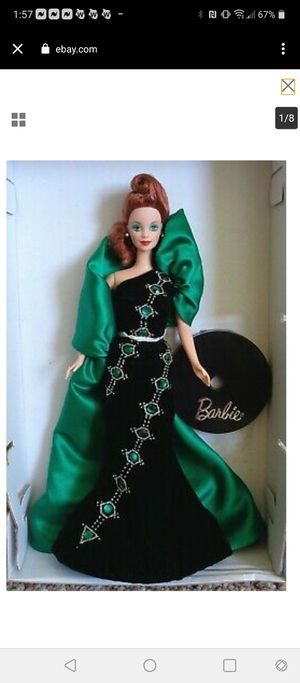 Emerald Embers Barbie by Bob Mackie for Sale in Concord, CA