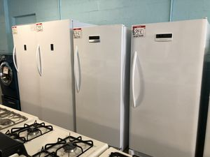 Frigidaire upright freezer 90 days full warranty for Sale in Owings Mills, MD