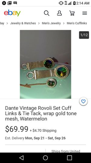 Cufflinks for Sale in Wichita, KS