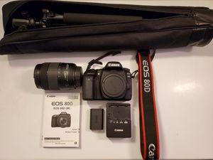 Canon 80D like new for Sale in Arlington, VA
