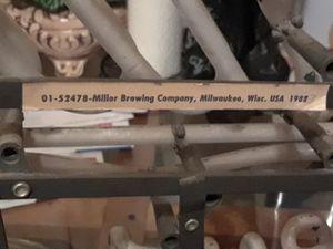 Vintage Miller high life sign for Sale in Hyattsville, MD