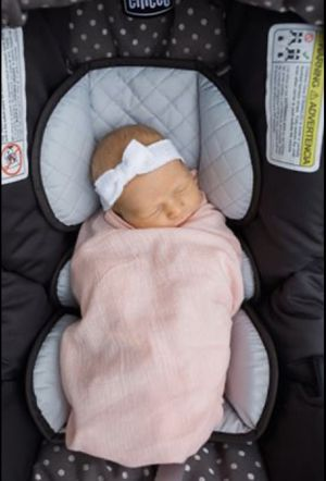 Infant Swaddles for Stroller/CarSeat Peach for Sale in Clermont, FL