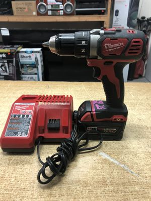 "Milwaukee 2606-20 M18 18V Lithium-Ion Cordless 1/2"" Drill/Driver Kit for Sale in Baltimore, MD"