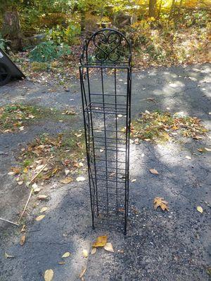 Cd dvd book iron black rack for Sale in Burlington, CT