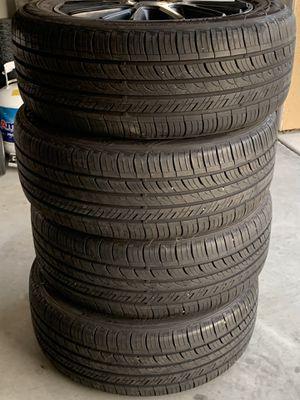 American Racing Wheels and Tires Set for Sale in Lake Elsinore, CA