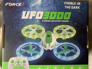 """Brand New """"Force1"""" UFO3000 Drone! Visible in the dark!! for Sale in FL, US"""
