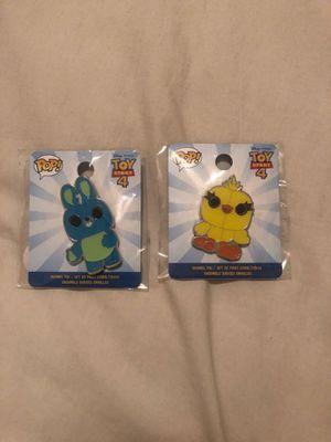 Pop Disney Toy Story 4 enamel pins for Sale in Las Vegas, NV