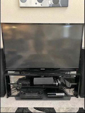 "61"" Samsung DLP TV and STAND for Sale in San Antonio, TX"