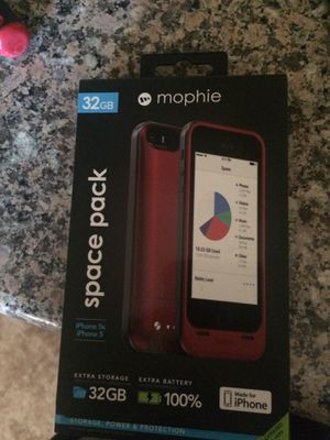 Mophie case iPhone 5 -5s for Sale in Pittsburg, CA