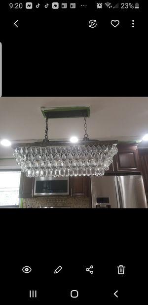 Kitchen island chandeliar for Sale in Clifton, NJ