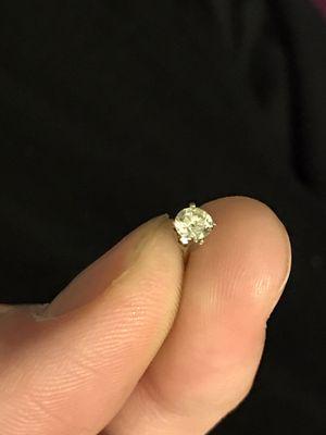 14k WG Single .45 ct VS1 diamond earring for Sale in San Antonio, TX