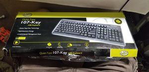 Gear head computer keyboard USB kb2500u for Sale in Yuma, AZ