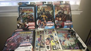 Marvel action figure and comic book lot for Sale in Corona, CA
