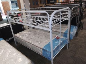 White bunk bed for Sale in Phoenix, AZ