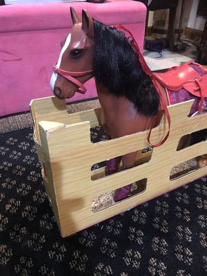 Horse 🐎 for 18 inches doll for Sale in Alexandria, VA