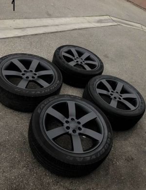 Chevy Chevrolet tbss trailblazer SS FACTORY OEM original 20 inch wheels rims for Sale in Hawthorne, CA