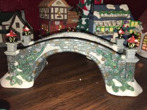 Hand painted porcelain bridge for Sale in Culloden, WV