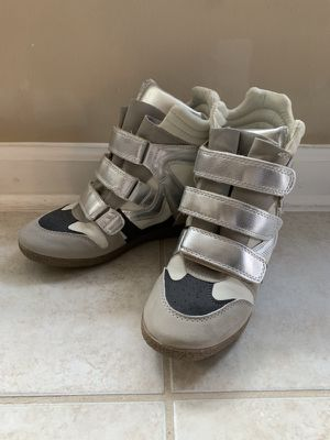 Just fab wedge heel high top sneakers size 7.5 for Sale in West Springfield, VA