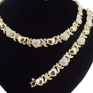 Diamond Heart & X Jewlery Set Adult for Sale in Fort Lauderdale, FL