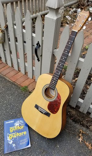 FIRST ACT ACOUSTIC GUITAR W BOOKLET NEW for Sale in Concord, MA