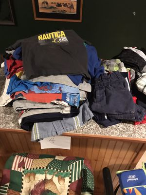 Size 4T t-shirts and shorts for Sale in Fredericksburg, VA