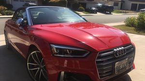 Audi S5 Prestige 2018 Cabriolet Low Miles All Service PREPAID for Sale in San Diego, CA
