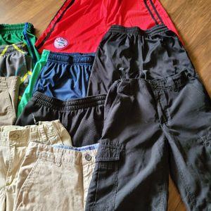 LOT BOYS CLOTHING- DRESS, ATHLETIC SHORTS- DESIGNER BRANDS SIZE M,L,12,14,16 for Sale in Mifflinburg, PA
