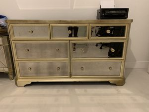 Mirror Dresser & Nightstand For Sale for Sale in Hialeah, FL