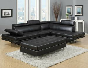 Ibiza Sectional Sofa with Ottoman!! Layaway and Financing Available!!! for Sale in Tampa, FL