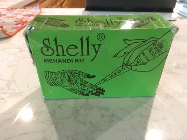 "Shelly Mehandi Kit natural ""Henna Tattoo"""