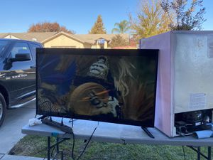 Tv as is $60 it has low volume for Sale in Fresno, CA